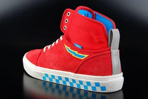 Vans VN-0 KX08CX - Zapatillas para hombre rojo rojo