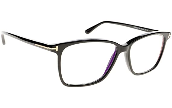 Amazon.com: Tom Ford ft5478-b anteojos 55 – 14 – 145 Negro ...