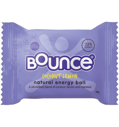 Bounce Coconut Lemon 40g x 12