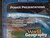 World Geography, MCDOUGAL LITTEL, 0618155147