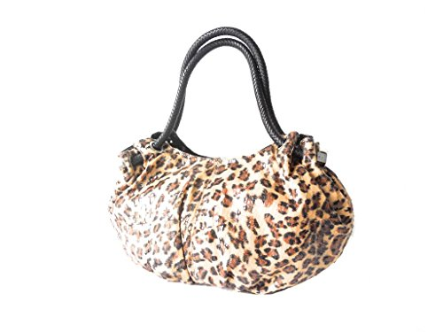 Lee Sands Women's Leopard Print Oversized Hobo Bag 20