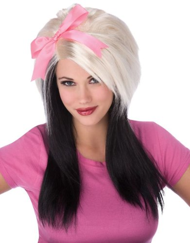 Scene Girl Bow Wig