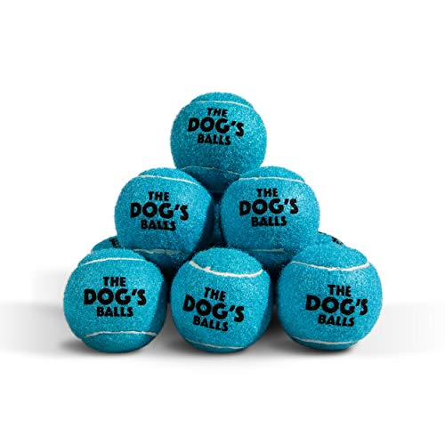 The Dog's Balls, Dog Tennis Balls, Quality Dog Toys, Premium Strong Dog & Puppy Balls Specifically Designed for Training, Play, Exercise and Fetch
