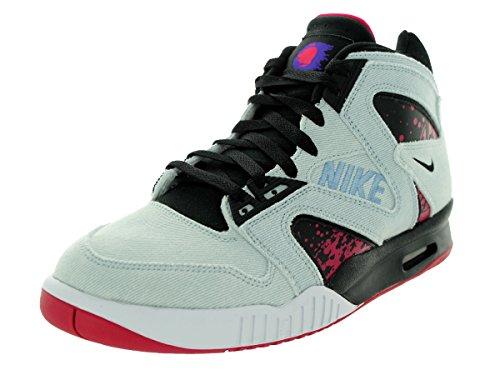 Nike Mens Sneakers In Denim Ibrido Air Tech Challenge 653874 Wshd Dnm / Blk / Fchs Frc / Drk Cncr