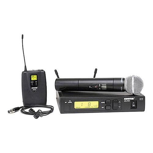 - Shure ULXS124/85 Combo Wireless Handheld