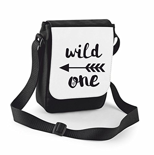 Crossbody Messenger One Small Black Adventurer Bag Statement Wild Traveling Case Shoulder Cover Handbag Arrow Compartment Large S1vXqqxwa