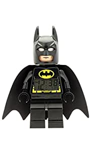 LEGO Kids' 9005718 DC Super Heroes Batman Mini-Figure Light Up Alarm Clock