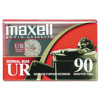 025215111617 - Maxell Dictation & Audio Cassette, Normal Bias, 90 Minutes carousel main 0