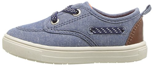 Pictures of Carter's Blaze Boy's Casual Boat Shoe, Navy, 5 M US Toddler 5