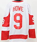 Gordie Howe Autographed Detroit Red Wings Jersey JSA COA