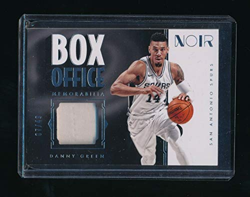 DANNY GREEN 2017-18 PANINI NOIR BOX OFFICE JERSEY 07/49 *SAN ANTONIO SPURS*