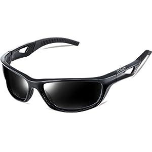 c6051e324f ATTCL Men s Sports Polarized Sunglasses Sports Glasses for Men Cycling  Driving Golf