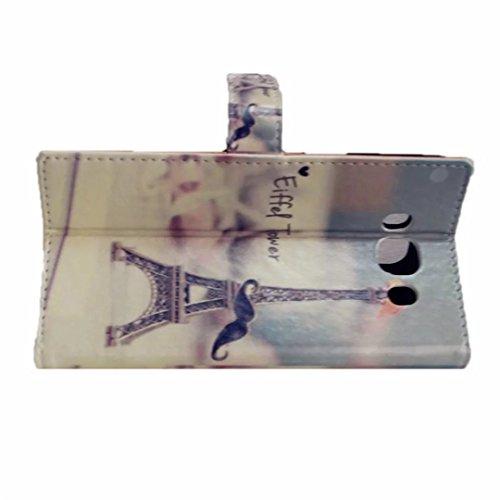 PU Cuero Carcasa para Samsung Galaxy Note 4 Funda Resistente Protectora Leather Wallet Case Cover Shell MUTOUREN Cubierta Caja Caso del Soporte Billetera Carcasa con Stand Función y Ranura de Tarjeta  B09