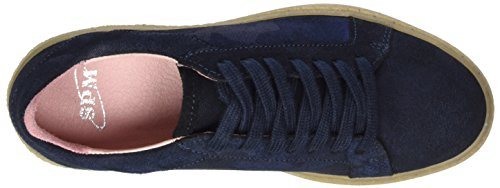 Women's Navy Soho Trainers SPM 04004 Blue Sneaker p5dxXXA