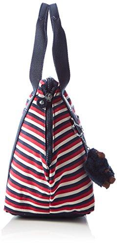 Kipling Art S - Bolsos de mano Mujer Varios colores (Sugar Stripe Bl)