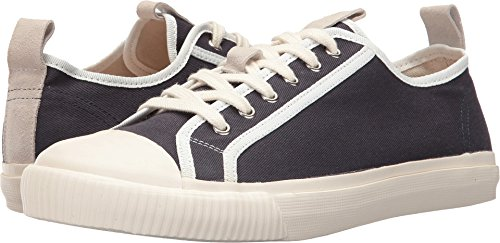 Grenson Canvas Sneakers - Navy/Ecru - 11 store sale good selling for sale buy cheap best sale fpXkrS