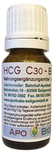 HCG C30 BioEnerg Globuli - Apothekenherstellung - Das hormonfreie Original