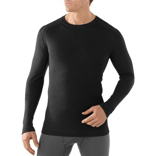 SmartWool Men's NTS Mid 250 Crew Top Black Large