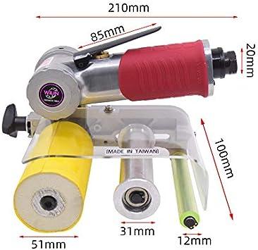20mm Pneumatic Air Belt Sander Polisher Grinding Machine Tool Air Belt Sander