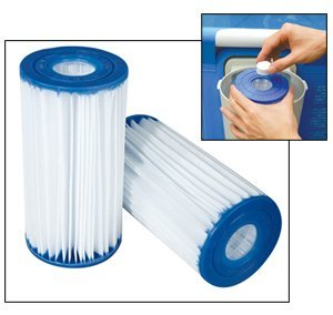 Blue Wave NFC230-4 4-Pack Type C Filter Cartridge for Intex and ProSeries Pools