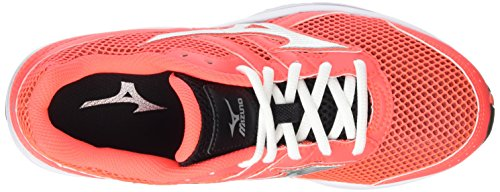 Pink Black Coral Running Women's Fiery Shoes Spark Silver Mizuno wqn4xA