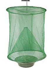 Reusable Hanging Fly Trap Farm Fly Catcher Mosquito Cage Fold-Type Insect Trap Net for Home Ranch Garden Environmental Protection Not Including Bowl
