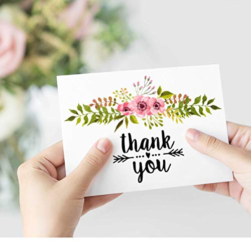 Buy floral blank note cards with envelopes