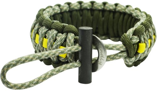 The Friendly Swede Adjustable Premium Paracord Bracelet with Fire Starter