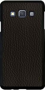 Funda para Samsung Galaxy A3 (SM-A300) - Imitación De Cuero Marrón