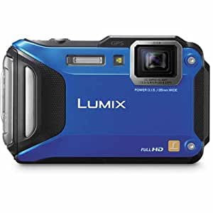 Panasonic DMC-FT5A 16.1 MP Waterproof Digital Camera with 3-Inch LCD (Blue)