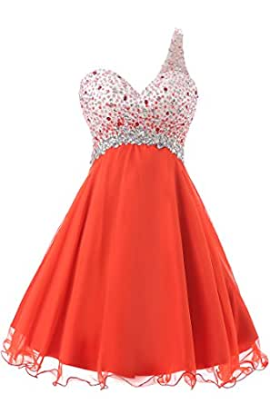 MXY Mini Chiffon Prom Dress for Women (4)
