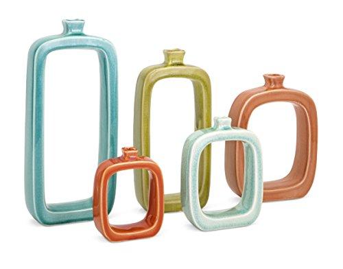 Imax Warlow Vases - Set of Five