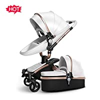 TZ Infant Shock-resistant Luxury High Landscape Folding Aluminum Alloy Frame ...
