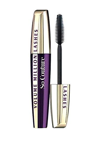 3 x L'Oreal Paris Volume Million Lashes So Couture Black Mascara 9.5ml