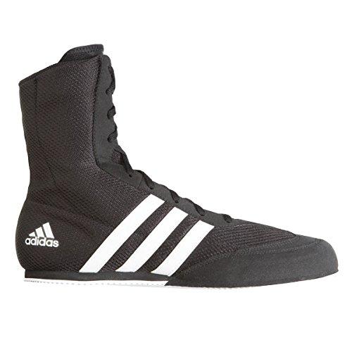 Scarpette Adidas Box Hog 2 Junior Nere / Bianche