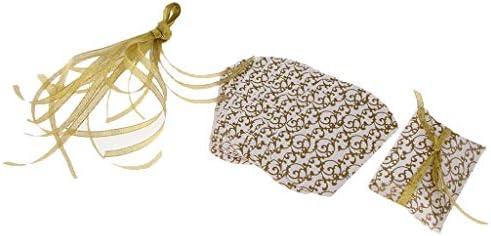 10個 キャンディーボックス 結婚式 誕生日パーティー 枕形状 ギフトボックス 2色選べ - 銀