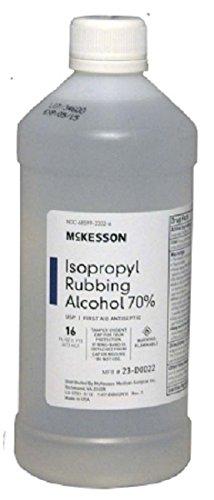 MCK Brand 23222700 Isopropyl Rubbing Alcohol Mckesson 16 Oz. 23-d0022 Box Of 12 by MCK Brand