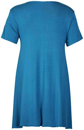 Mujer Azul Sin Mangas Camiseta Purple Para Hanger petróleo xqfP7XU