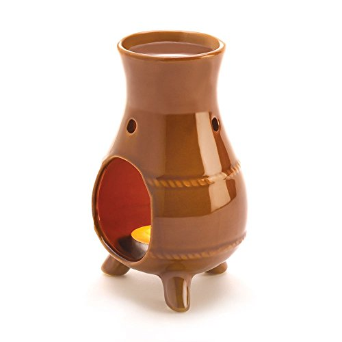 omatherapy Fragrance Earthen Oven Ceramic Oil Warmer Burner ()