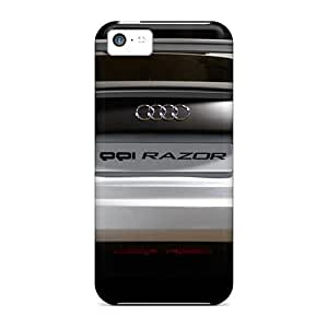 5c Scratch-proof Protection Case Cover For Iphone/ Hot Audi R8 White Phone Case