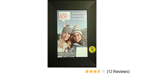 Amazon.com - Chatter Box Recordable Voice Photo Frame - Colors May ...