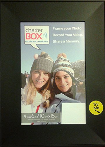 (Chatter Box Recordable Voice Photo Frame - Colors May Vary)