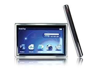 Mach Speed 8 GB Trio-T4300HD MP3 Media Player (Silver/Black)