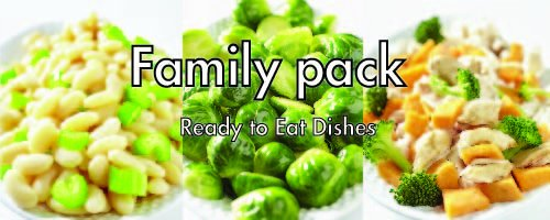 30 pouches of GotMeals Family Pack