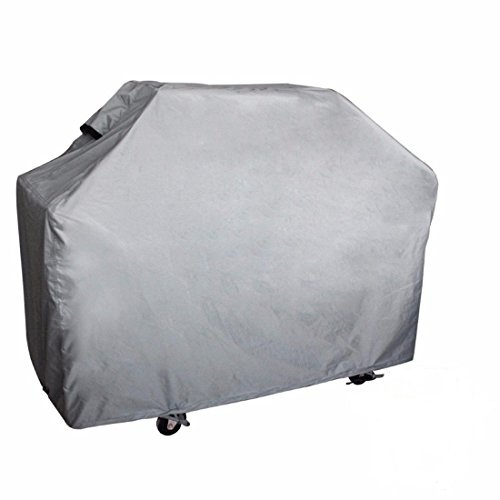 100% Waterproof Heavy Duty Outdoor Cart BBQ Cover Patio Gas Barbecue Grill Cover Up To 64 in.L