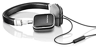 Harman Kardon SOHO Slim Foldable Mini Headphones - Black/Silver - Certified Refurbished