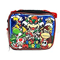 Bolsa de lonchera aislada Super Mario 3D Bros con licencia Nintendo Luigi Nuevo auténtico