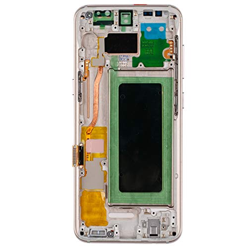 New Amoled Touch Screen Display Compatible with Samsung Galaxy S8 G950A G950T G950V G950P SM9500 G950N G950F G950U LCD Full Assembly Gold with Frame+ Tools