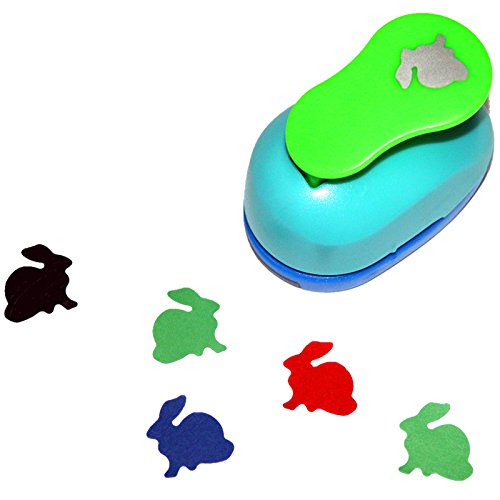 Rabbit Paper - CADY Crafts Punch 1-Inch paper punches . puncher (rabbit)