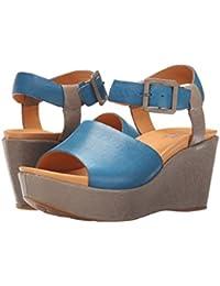 New season Sandals Women Kork Ease Keirn Grey/Blue US Online